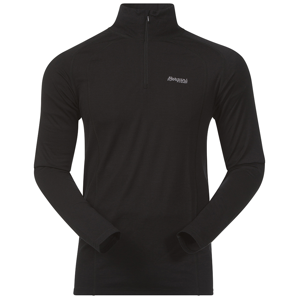 168974 Fjellrapp Half Zip Black