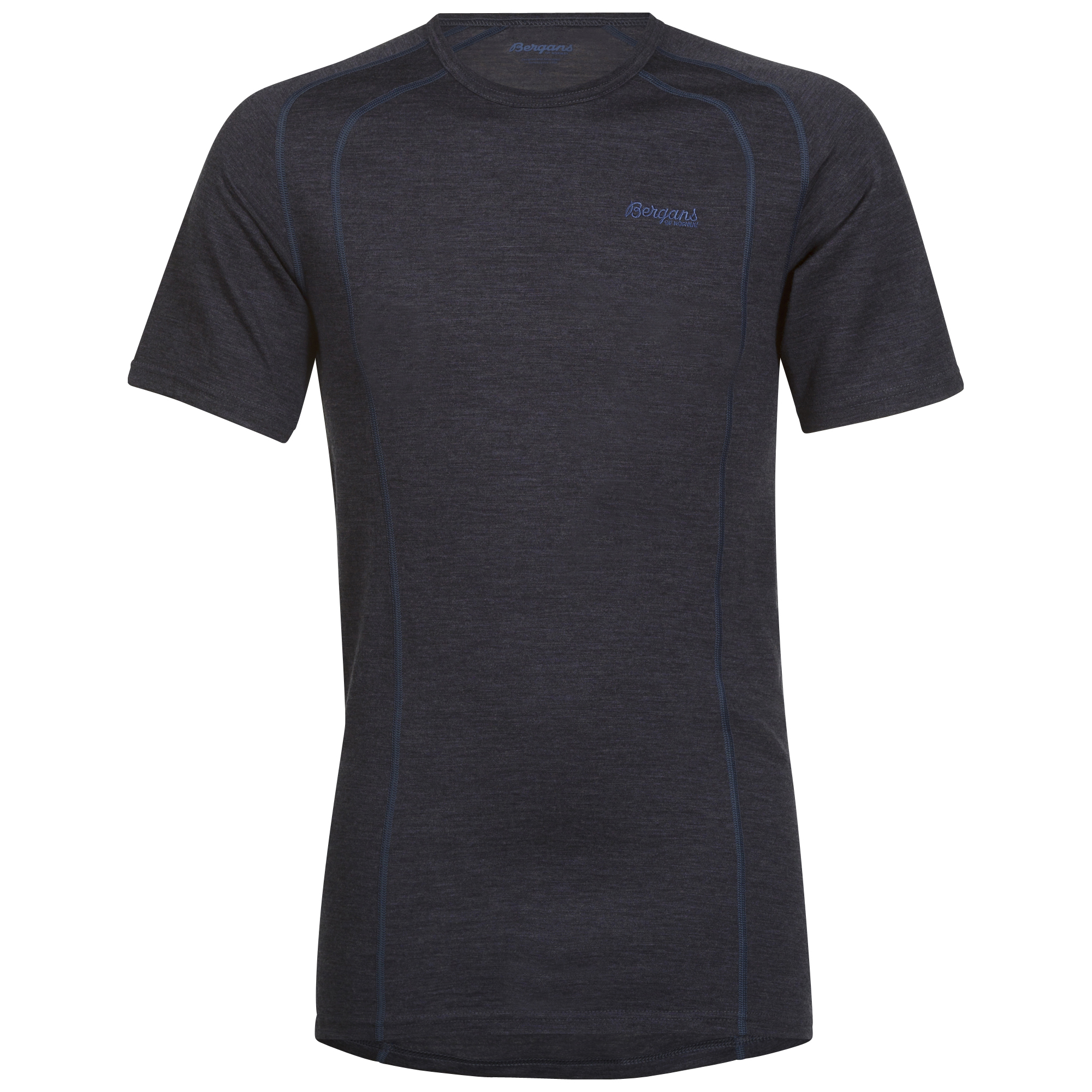 169020 Fjellrapp Tee NightBlue Mel