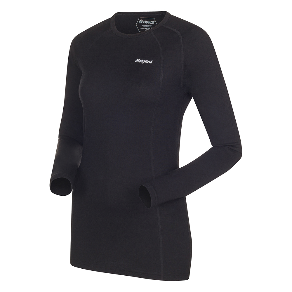 145004 Fjellrapp Lady Shirt Black